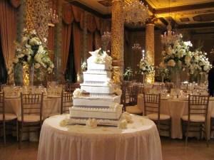 Wedding Cake at The Drake