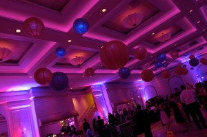 Wedding Lanterns at Venuti's