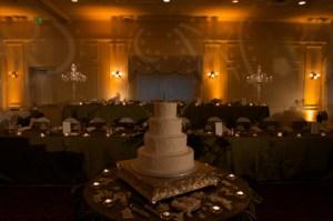 Lighting for an Indiana wedding