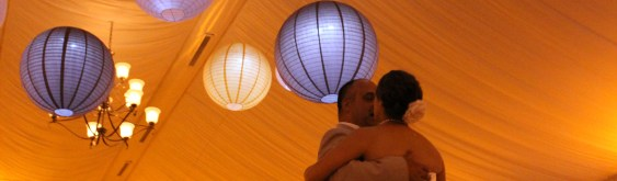 Hanging Lanterns for Chicago Weddings