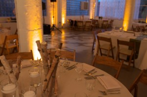 Wedding Uplighting at Chicago Room 1520
