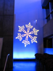 Chicago Holiday Party Event Lighting