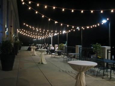 String Lighting at Westin Lombard