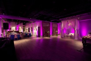 Purple uplights