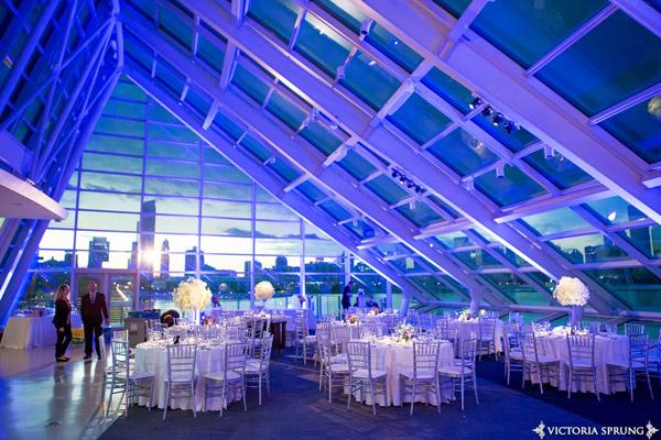 Adler Planetarium Wedding Lighting
