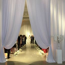 Chez Wedding Drape