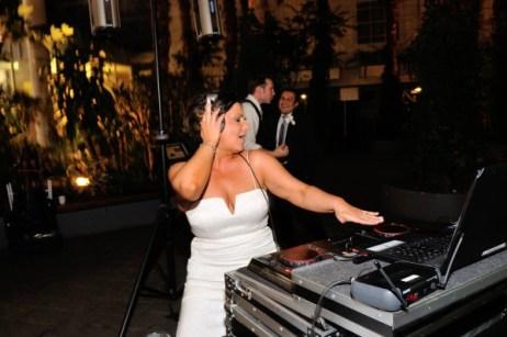 Bride Rocking the Decks