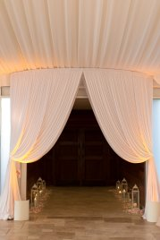 Galleria Marchetti Wedding Entry Drape