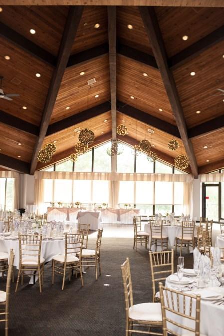 Grapevine Balls at a White Pines Wedding
