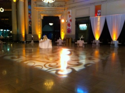 Gobo and Uplighting at Shedd Aquarium