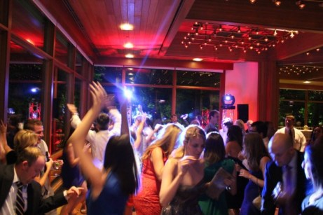 Hyatt Lodge Wedding Dance Floor