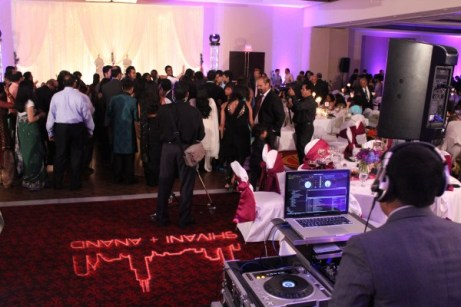 Indian Wedding with DJ Aumir