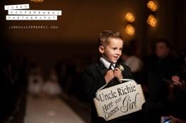 Ringbearer at W City Center Wedding