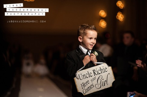Ringbearer at W City Center Wedding