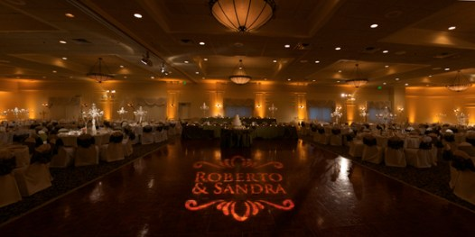 Schereville wedding gobo