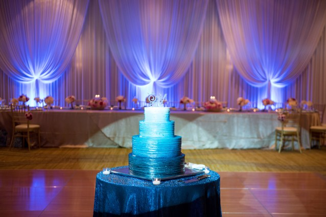 Wedding Drape and Lighting at Hyatt Lodge Oakbrook