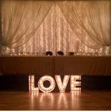 metropolis ballroom twinkle drape