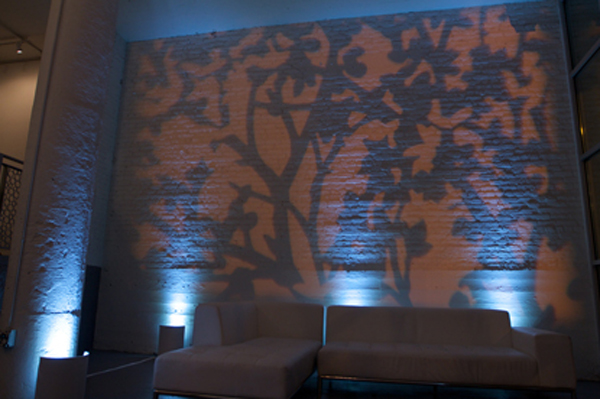 Gobo Projection at Room 1520