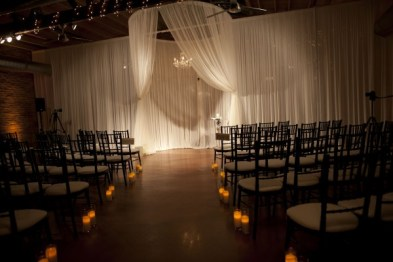 Ceremony Structure and Candles