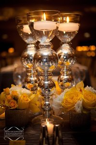 Kim and Ted Centerpieces by Studio AG