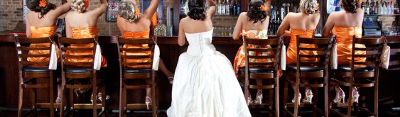 You May Now… Chug a Wedding Beer with the Bride?