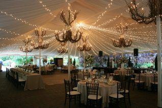 Twinkle Lights for a Galleria Marchetti Wedding