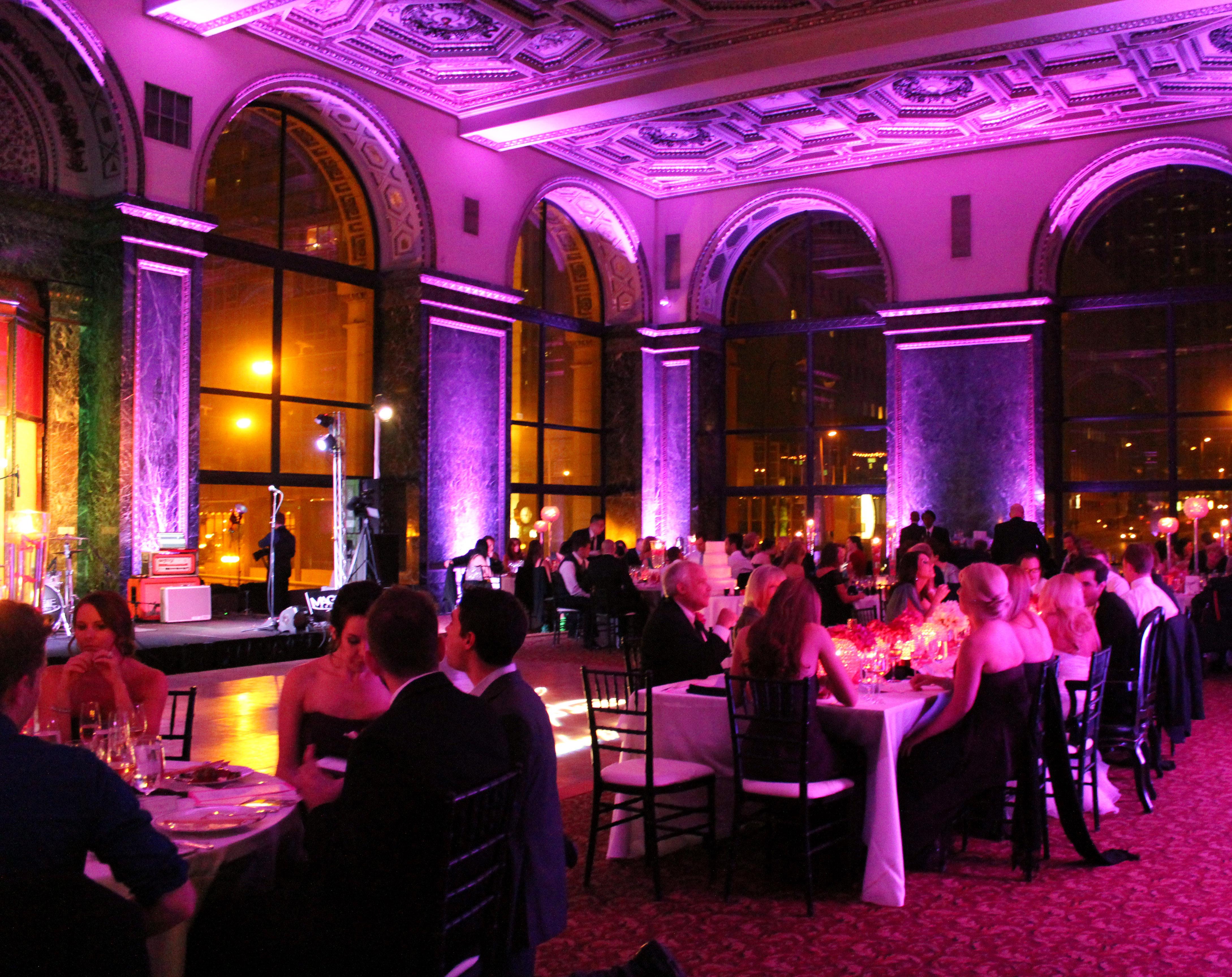 Chicago Cultural Center Wedding Reception Mdm Entertainment