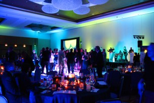 Schaumburg Corporate Party Lighting