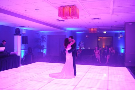Light Up Dance Floor for a Chicago Wedding