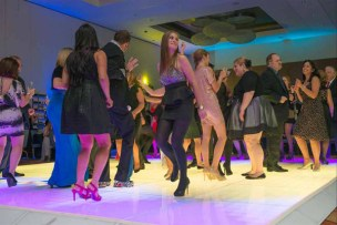 LED Dance Floor at a Corporate Event in Schaumburg