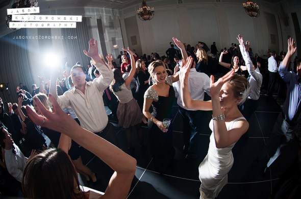 W City Center Wedding Dancing