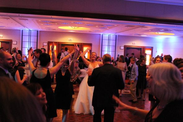 Kristin and Brads Marriott OHare Wedding Dancing 3