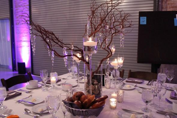 Architectural Artifacts Wedding Tree Centerpiece