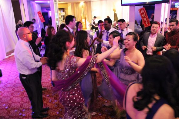 Christina and Ron's Traditional Chinese and Indian Wedding Dancing 4