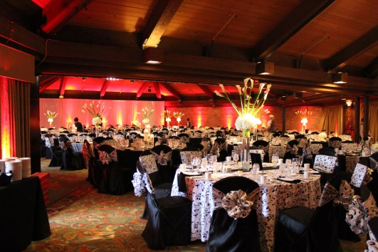Indian Lake Hilton Wedding Uplighting