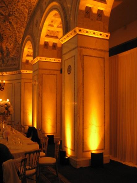 Uplights at Chicago Cultural Center