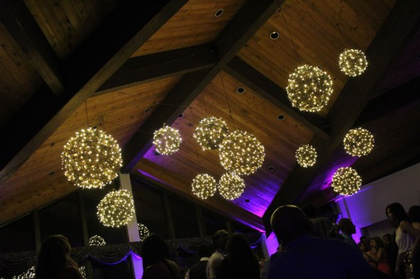 Balls at a Chicago wedding