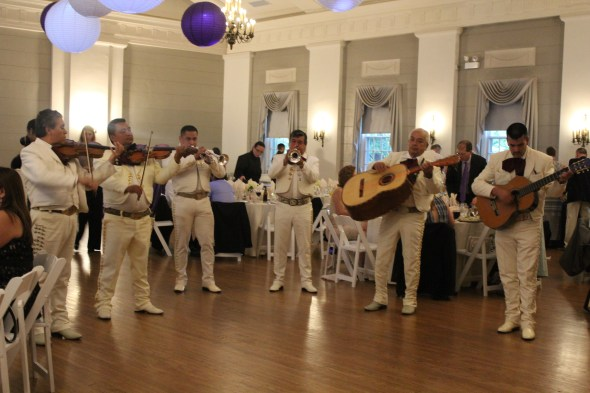 Mariachi Band at the Nineteenth Century Club Wedding