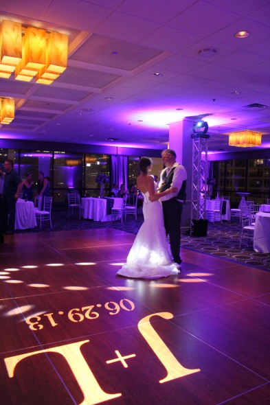 Jennifer and Loren's dance at the Holiday Inn Mart Plaza