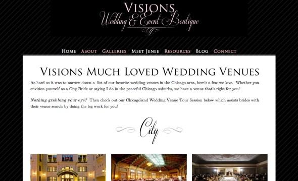 Visions Wedding Boutique Venue Tour