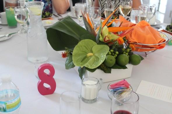 Abby Flower centerpieces