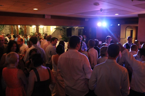 Chicago Wedding DJ at Pazzo's