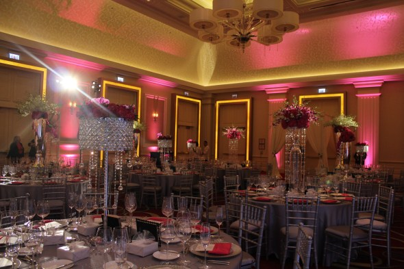 JW Marriott Chicago Wedding Lighting