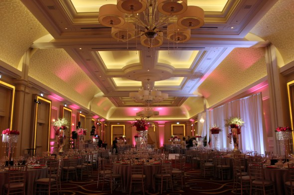Chicago Wedding Lighting at JW Marriott Chicago Wedding