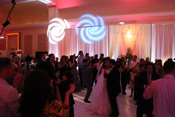 Dance Floor Lighting JW Marriott Chicago Wedding