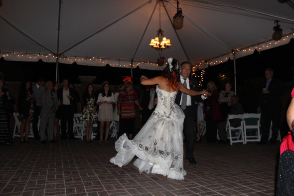 Father Daughter Dance at Season's of Long Grove Wedding