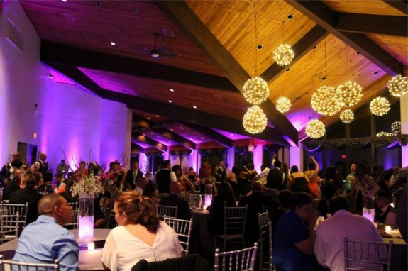 White Pines Golf Club Wedding with Chicago Wedding Lighting