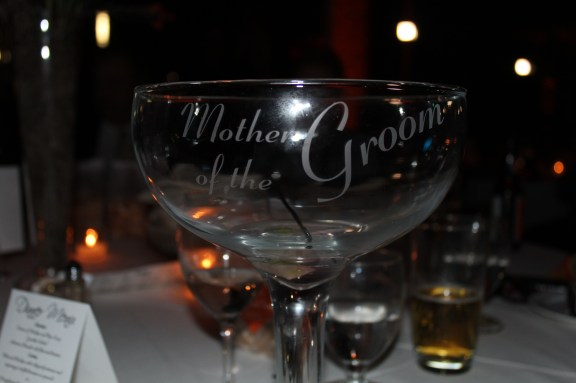 Mother of the Groom Goblet at the Cantigny Park Wedding