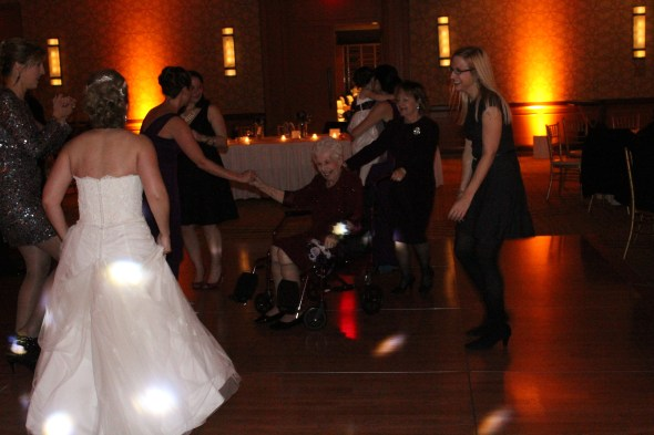 Hyatt Lodge Oak Brook Wedding Dancing