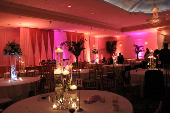 Candles at the Ashyana Banquets Wedding